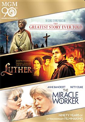 STORY EVER TOLD/LUTHER/MIRACLE WORKER BY BAKER,CARROLL (DVD)
