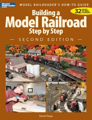 Building a Model Railroad Step by Step By Popp, David